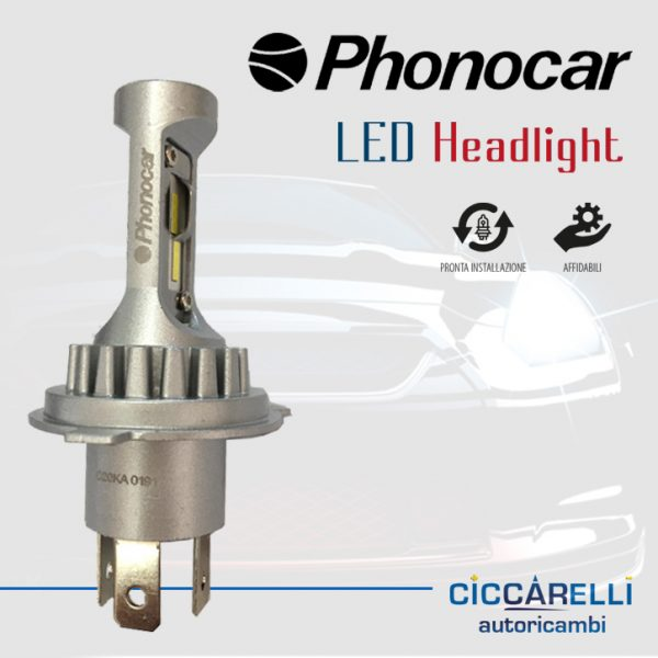 Lampadine a led Phonocar H4 led