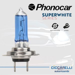 Lampade faro alogena Phonocar H7
