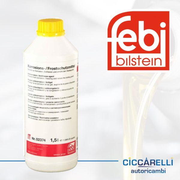 Olio Febi radiatore giallo 1,5l