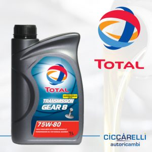 Olio Total GEAR8 75W80