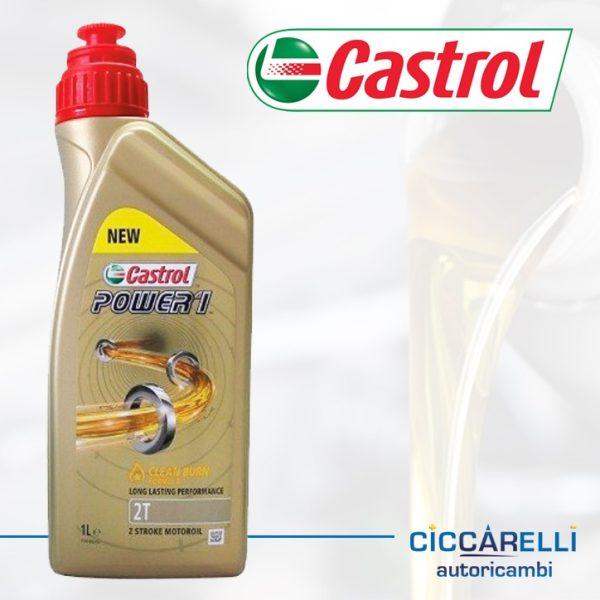 olio 2T castrol