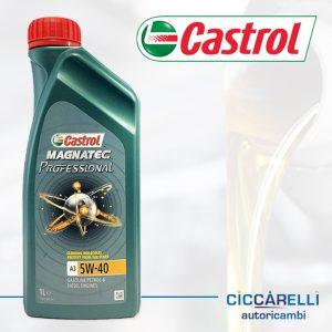 olio motore castrol 5W40